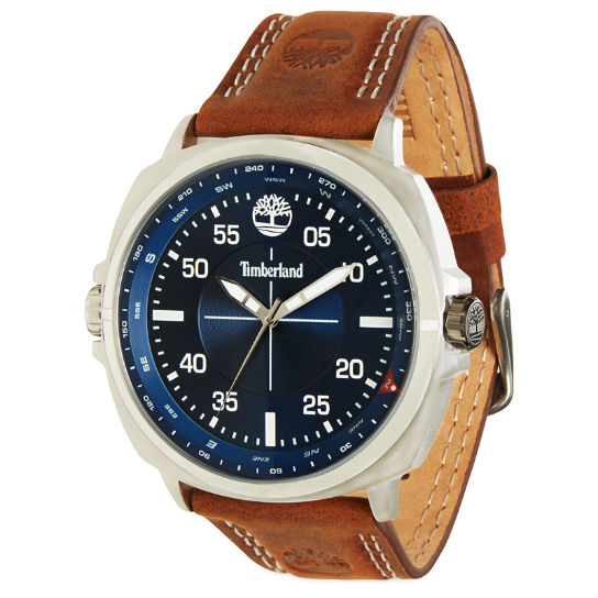 Orologio da Uomo Williston Blu/Marrone | Timberland