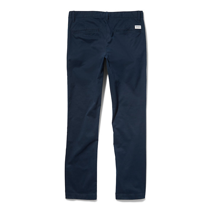 Squam Lake Slim Chinos for Men in Navy-
