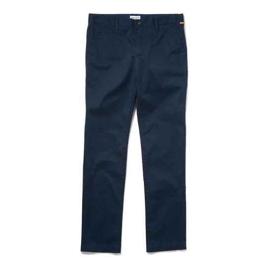 Squam Lake Slim Chinos for Men in Navy | Timberland