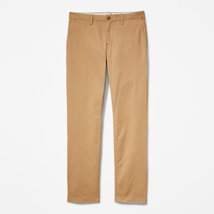 Chino slim Squam Lake pour homme en kaki-