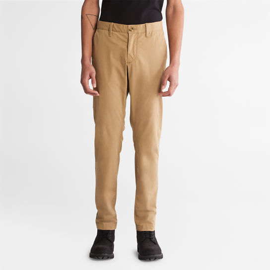 Squam Lake Slim Chinos for Men in Khaki | Timberland