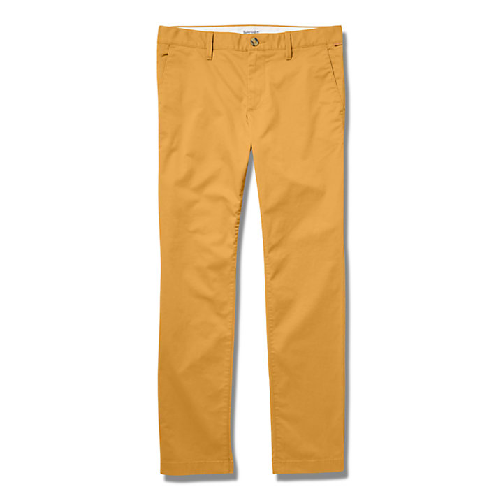 Chino slim Squam Lake pour homme en jaune-