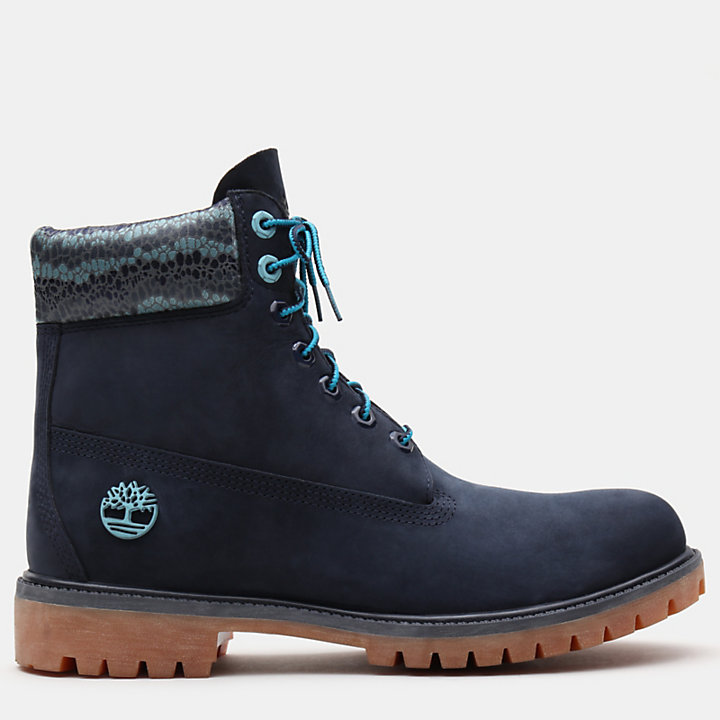 6 Inch Premium Autumn Boot for Men in Navy-