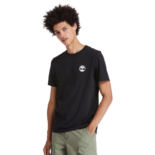 Back Tree Graphic T-Shirt for Men in Black | Timberland