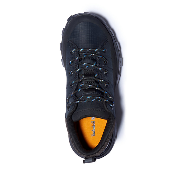 Treeline Hiking Sneaker for Youth in Black-