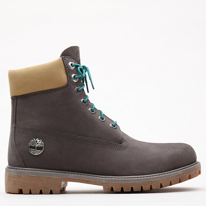6-Inch Premium Autumn Boot voor Heren in grijs-