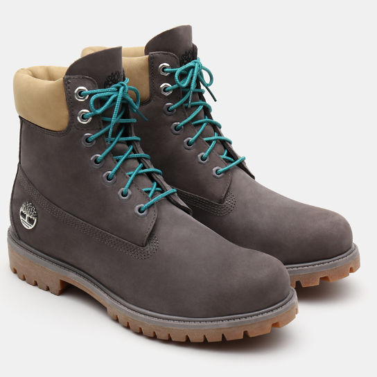 6 Inch Premium Autumn Boot for Men in Grey | Timberland