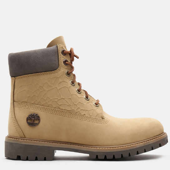 6 Inch Premium Autumn Boot for Men in Beige | Timberland
