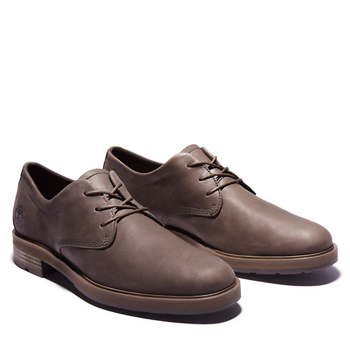 Windbucks Oxford for Men in Dark Brown-