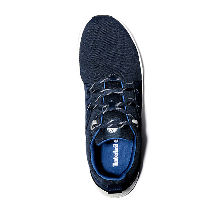Concrete Trail Oxford for Men in Navy-