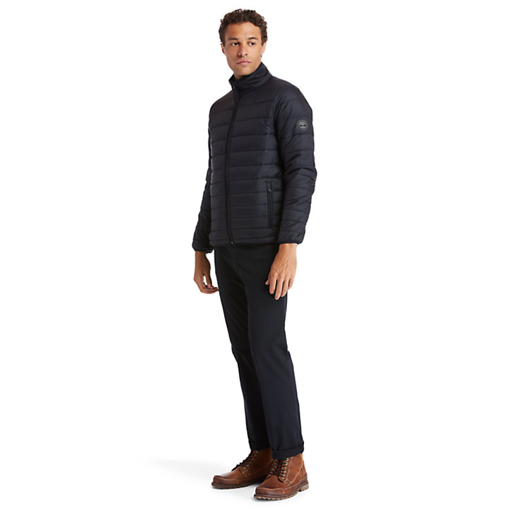 Mount Eastman Quilted Jacket for Men in Black-