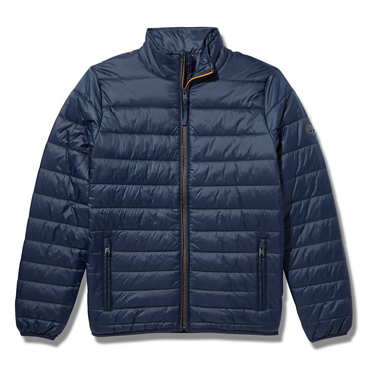 Mount Eastman Quilted Jacket for Men in Navy-