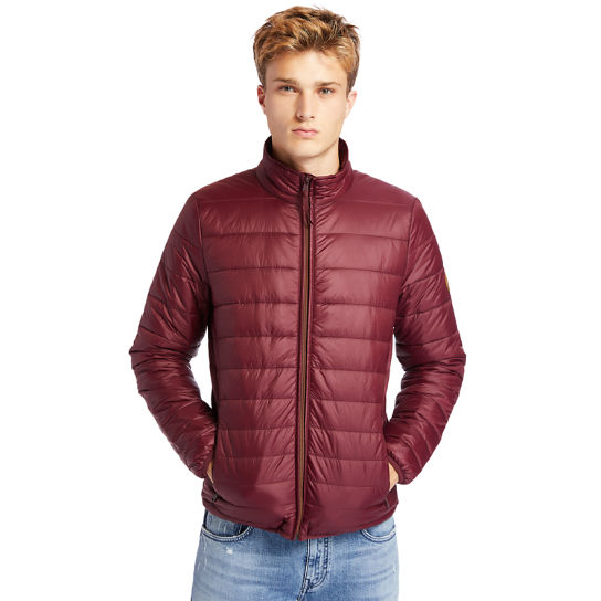 Mount Eastman Quilted Jacket for Men in Burgundy | Timberland