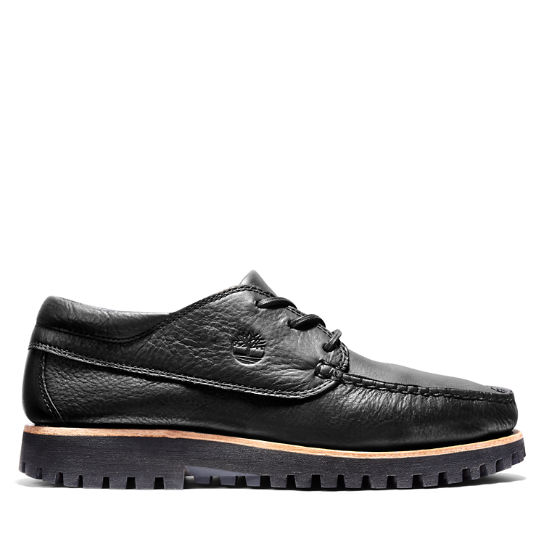 Jackson's Landing Moc Toe Oxford for Men in Black | Timberland