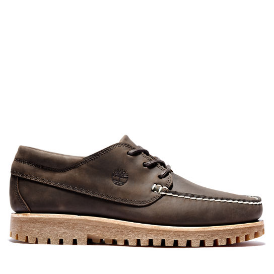 Oxford da Uomo Jackson's Landing Moc Toe in marrone scuro | Timberland
