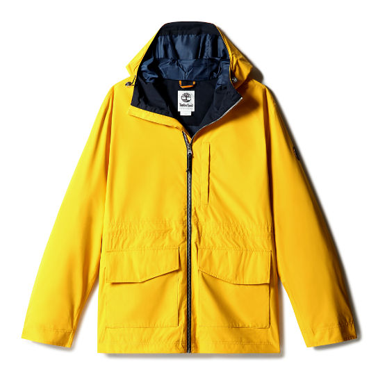 Mt Ludlow Cruiser Jacket for Men in Yellow | Timberland