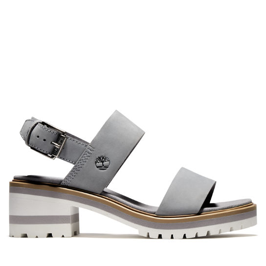 Violet Marsh Sandal for Women in Grey | Timberland