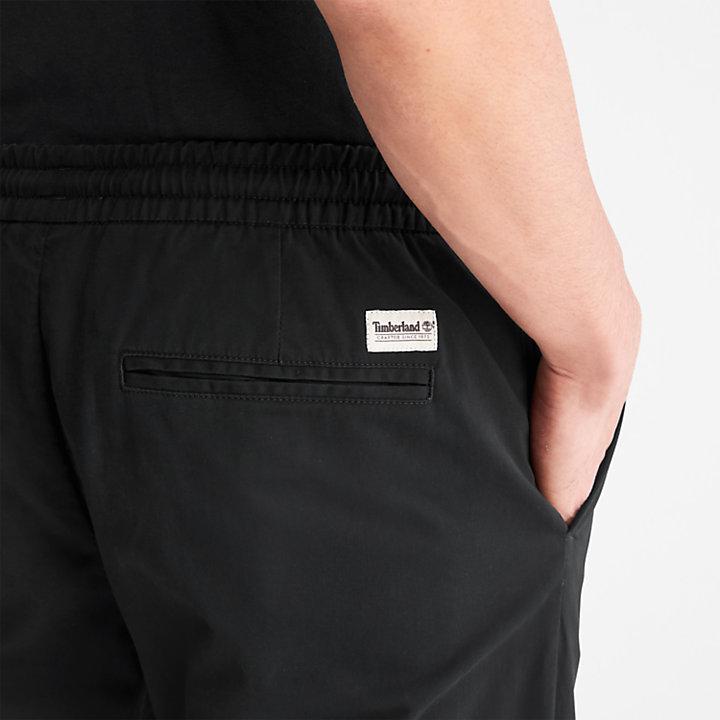 Pantaloni della Tuta da Uomo Lovell Lake Tapered in colore nero-