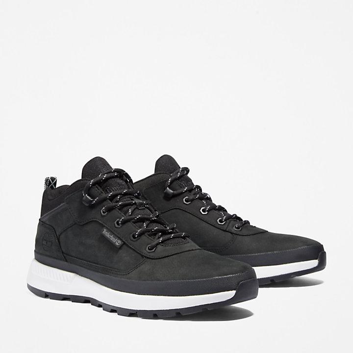 Chaussure de randonnée basse Field Trekker pour homme en noir-