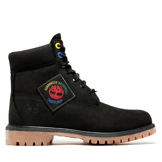 Classic 6 Inch Boot for Men in Black | Timberland