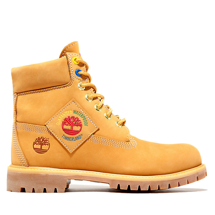 6 Inch Boot for Men in Yellow-