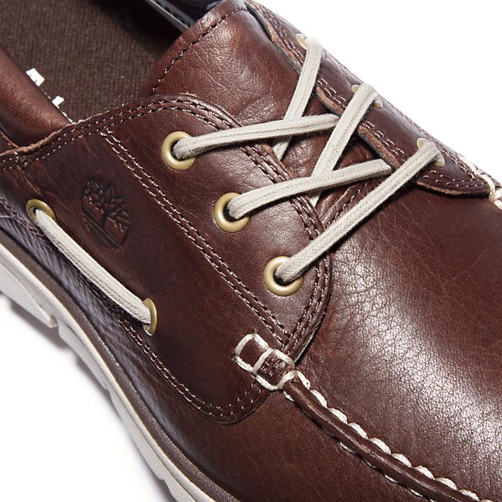 Chaussure bateau Bradstreet pour homme en marron foncé-