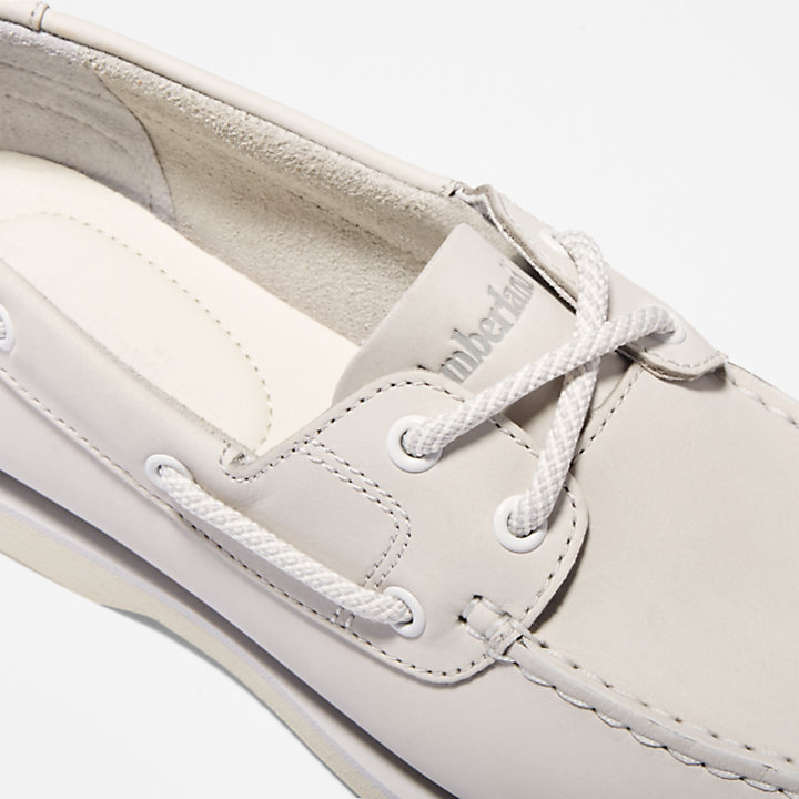 Classic Boat Shoe for Women in Grey-