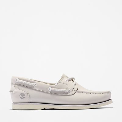 Classic+Boat+Shoe+for+Women+in+Grey