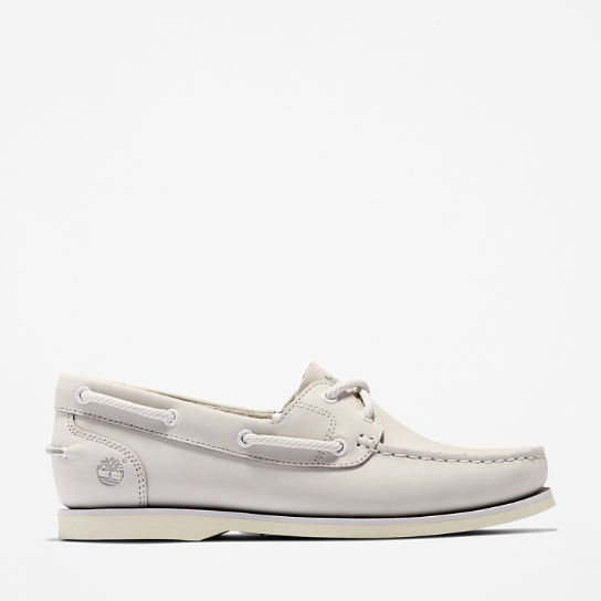 Classic Boat Shoe for Women in Grey | Timberland