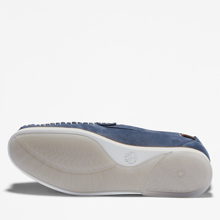 Atlantis Break Venetian Shoe for Men in Navy-