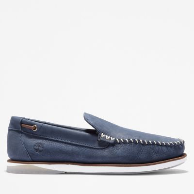 Atlantis+Break+Venetian+Shoe+for+Men+in+Navy