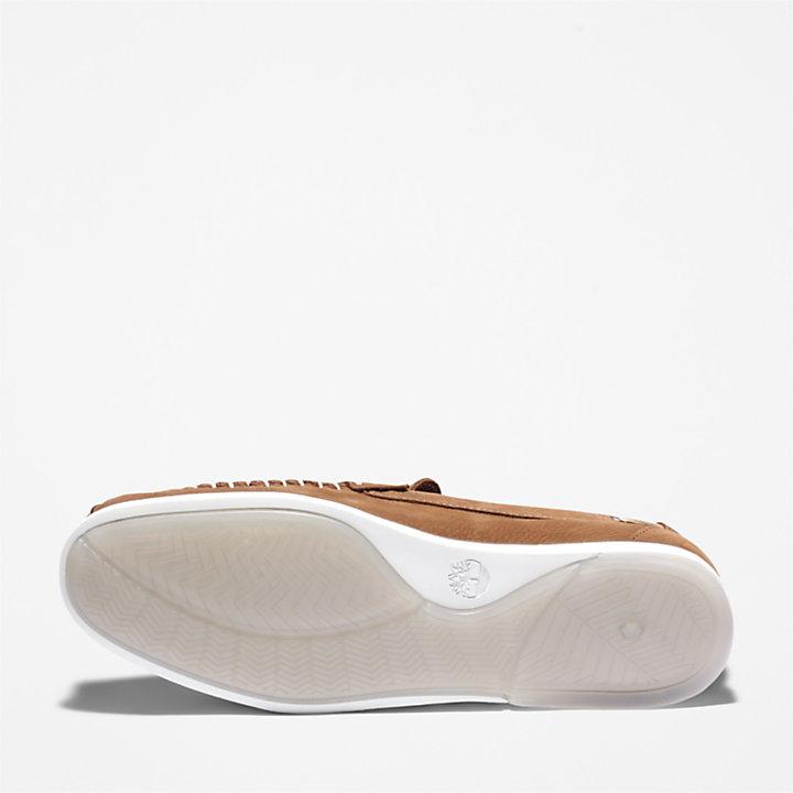 Atlantis Break Venetian Shoe for Men in Light Brown-