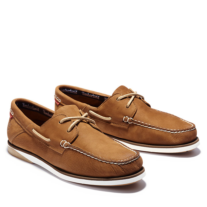Atlantis Break Boat Shoe for Men in Brown-