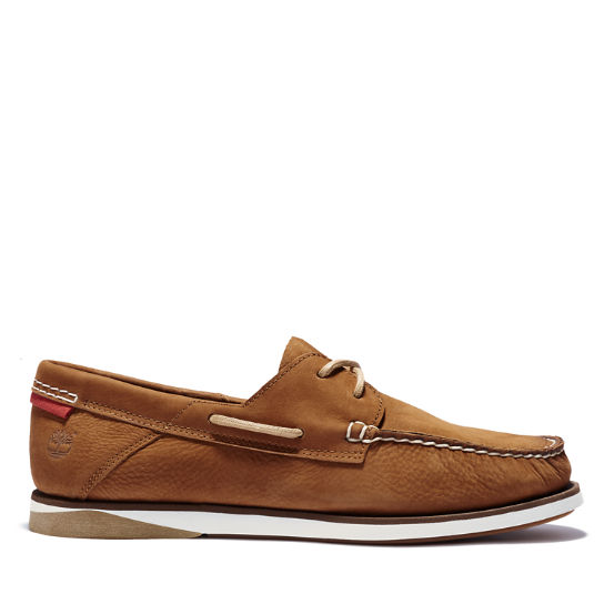Atlantis Break Boat Shoe for Men in Brown | Timberland