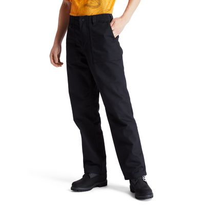 Pantaloni+Workwear+da+Uomo+in+marrone