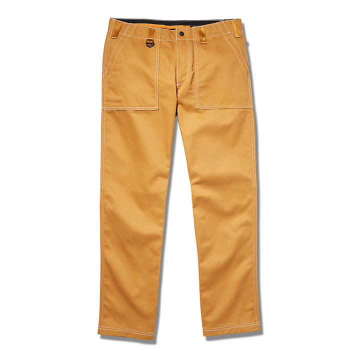 Workwear Pants for Men in Yellow-