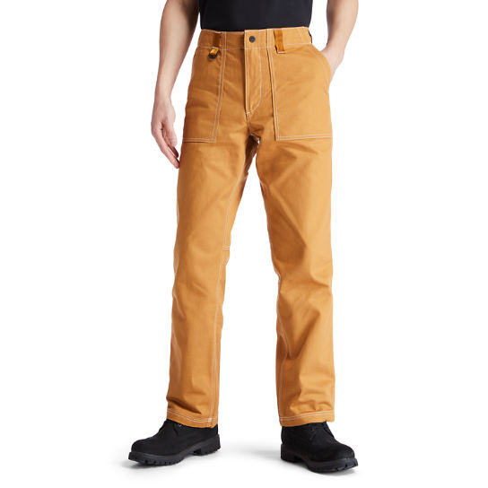 Workwear Pants for Men in Yellow | Timberland