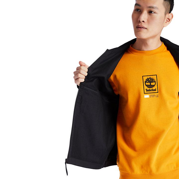 Workwear Jacket for Men in Black-