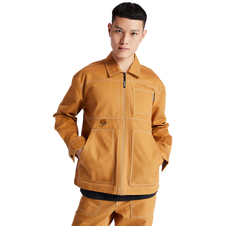Workwear Jacket for Men in Yellow-