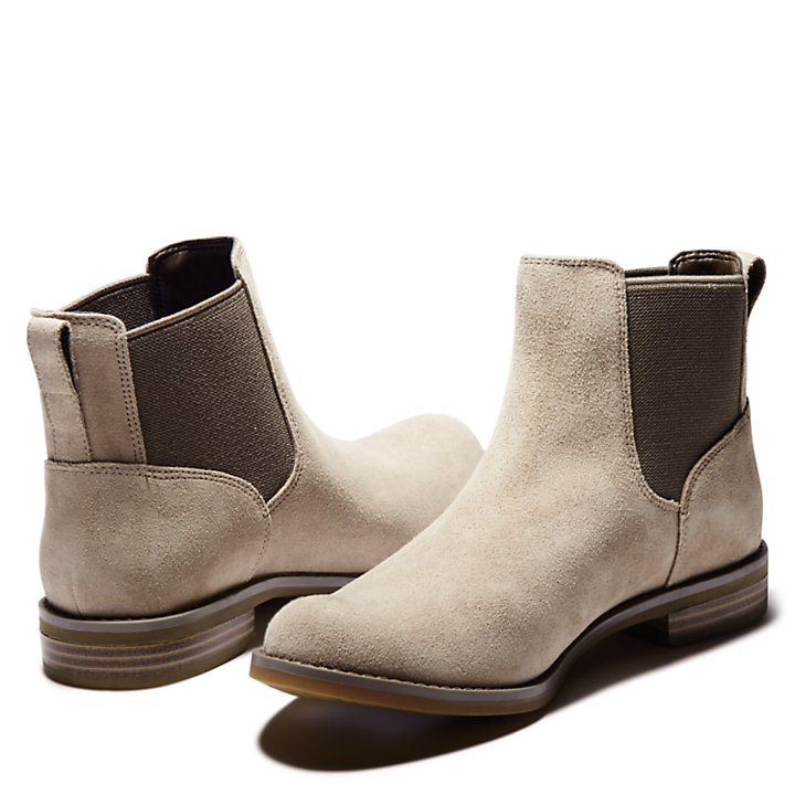 Magby Chelsea Boot for Women in Greige-