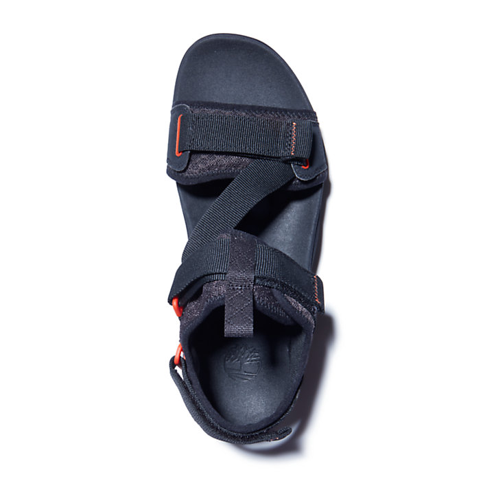 Ripcord Sandal for Men in Black-
