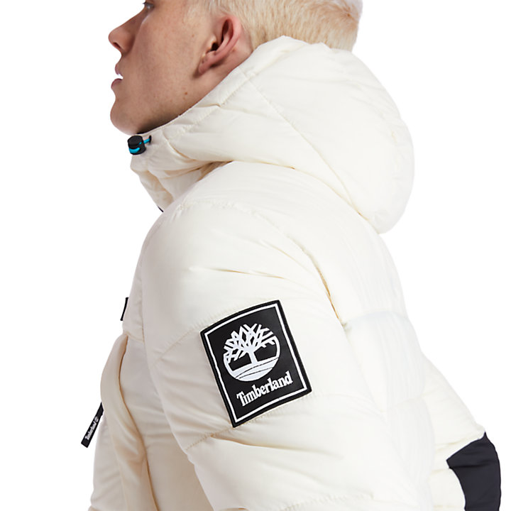 Outdoor Archive Puffer Jacket for Men in Beige-