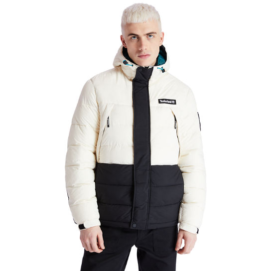 Outdoor Archive Puffer Jacket for Men in Beige | Timberland