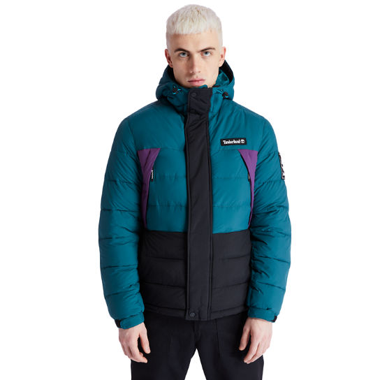 Outdoor Archive Puffer Jacket for Men in Teal | Timberland