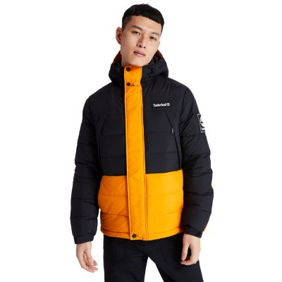 Outdoor+Archive+Puffer+Jacket+for+Men+in+Black%2FOrange