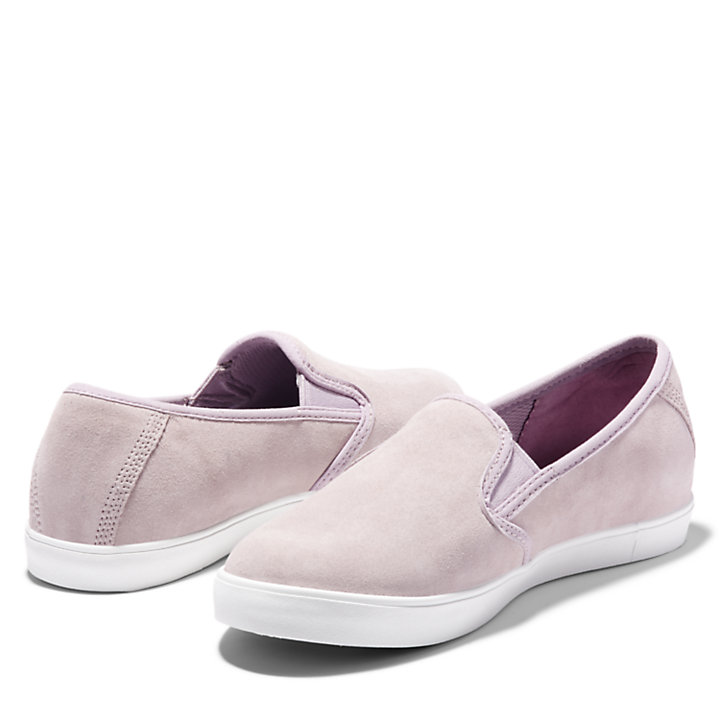 Dausette Leather Slip-On for Women in Lilac-