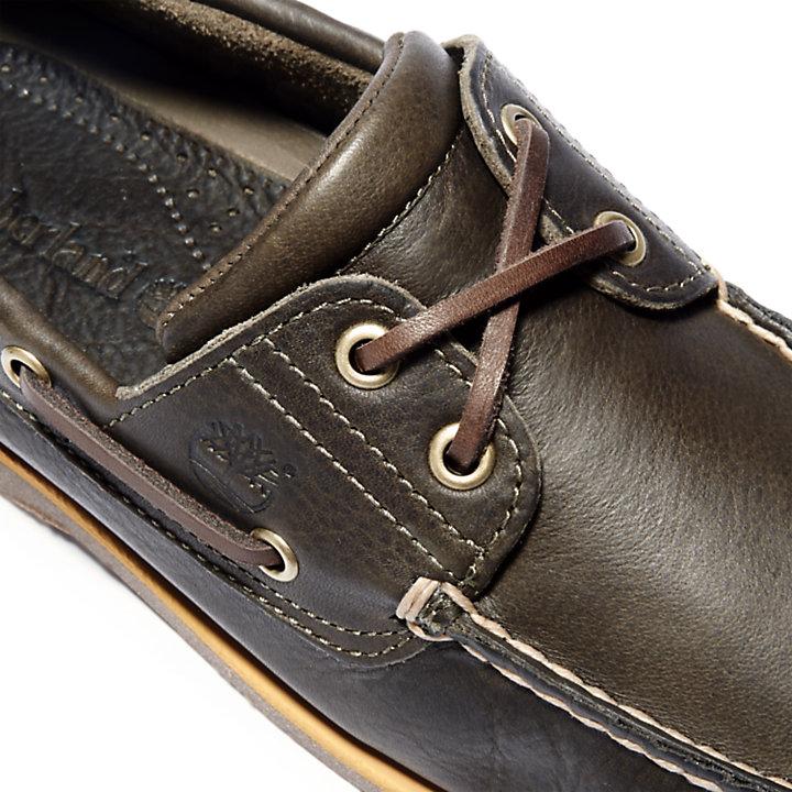 Classic Full Grain Bootschoen voor Heren in donkerbruin-