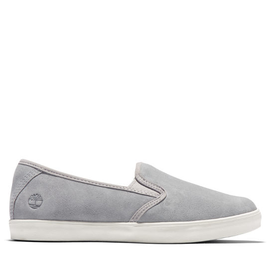 Dausette Leather Slip-On for Women in Grey | Timberland
