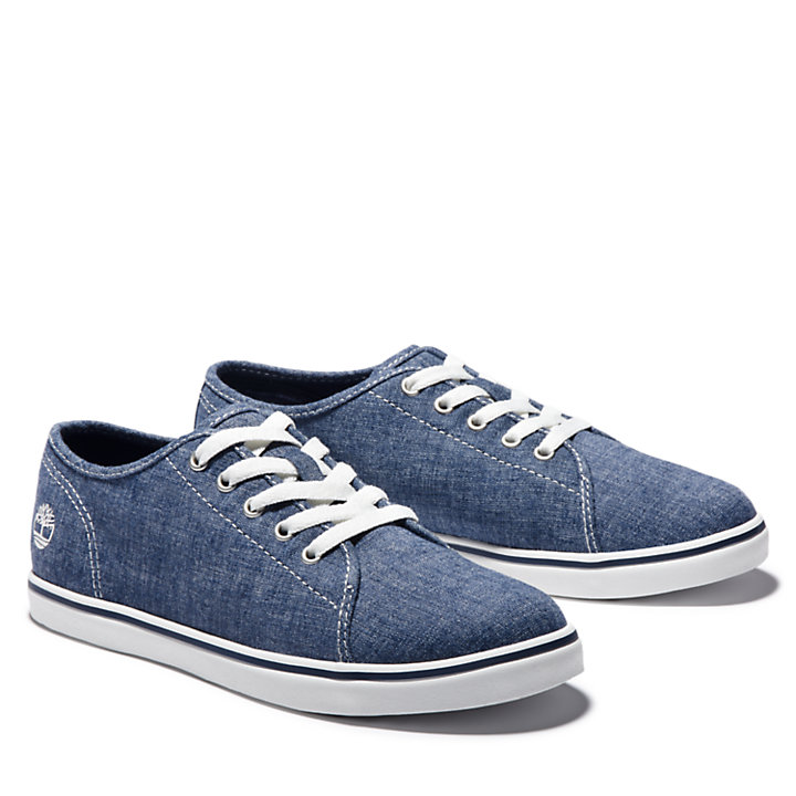 Dausette Canvas-Sneaker für Damen in Navyblau-