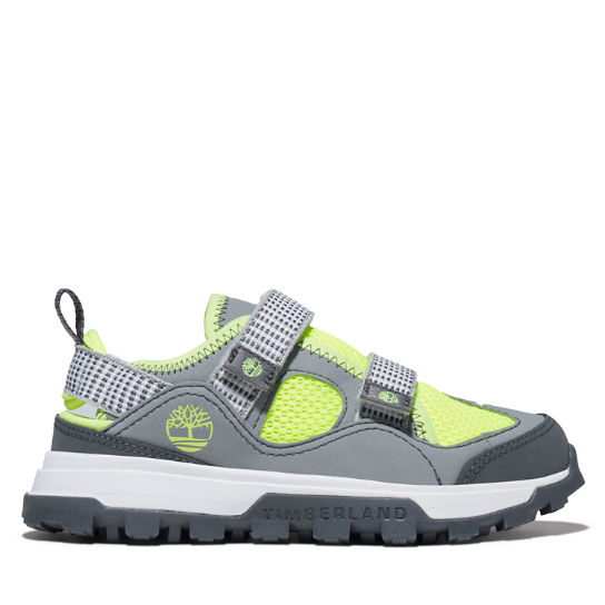 Treeline Fisherman Sandal for Youth in Grey | Timberland